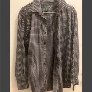 David Taylor Men's Medium Wrinkle Free Shirt